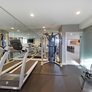 75 most popular small home gym design ideas for 2019