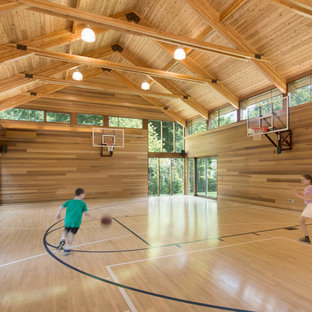 Chestnut Hill prefab gym