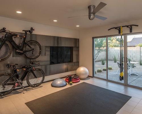 Phoenix home gym design ideas remodel pictures houzz