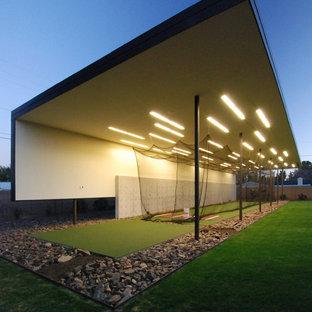 Home gym - modern home gym idea in Phoenix