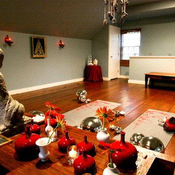 Christmas Yoga Studio