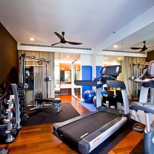 Most popular singapore home gym design ideas for stylish