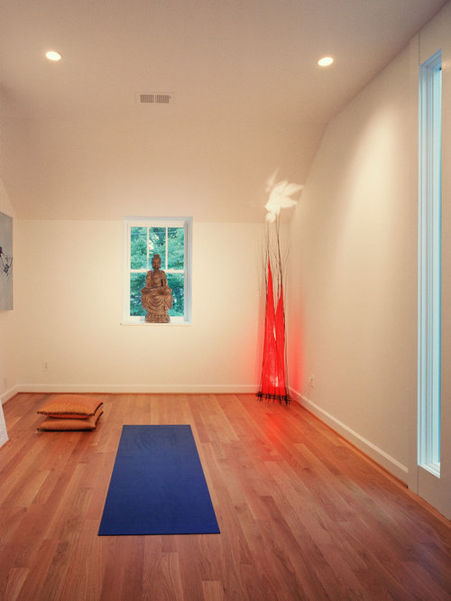Yoga room home design ideas pictures remodel and decor for Home yoga room design