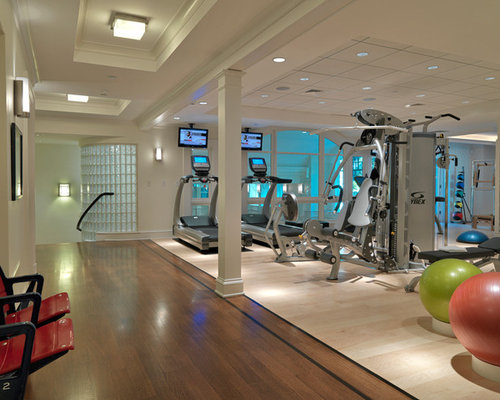 1 220 Exercise Room Home Gym Design Photos