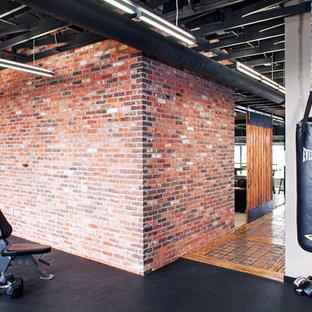 Industrial Fitnessraum in Omaha
