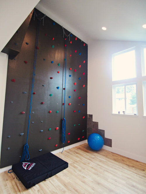 Traditional Home Climbing Wall Design Ideas Pictures