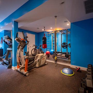 Clovelly Walk - Home Gym - After