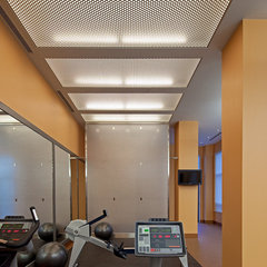 contemporary home gym by Peter A. Sellar - Architectural Photographer