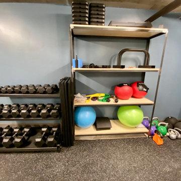 Construction d'un Gym