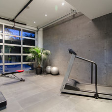 Contemporary Home Gym by RENE PICARD INTERIORS