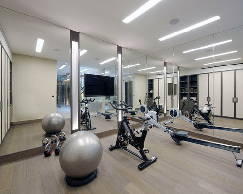 Home Gym Design Ideas Renovations Photos - Home gym design ideas