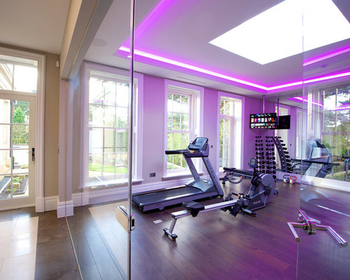 Best Contemporary Home Gym Design Ideas Amp Remodel Pictures