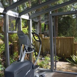 Contemporary Outdoor Gym