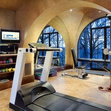 Mediterranean Home Gym Cord Shiflet Rob Roy Estate