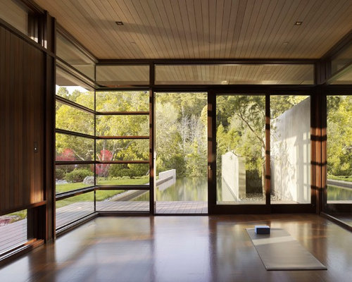 Houzz Modern Home Gym Design Ideas Amp Remodel Pictures