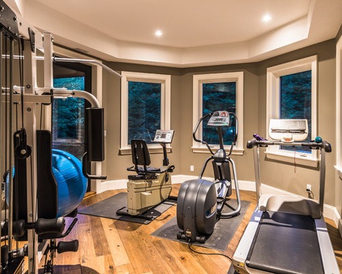 Rustic home gym design ideas pictures remodel decor