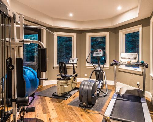 Soaker Home Gym Design Ideas Renovations amp Photos