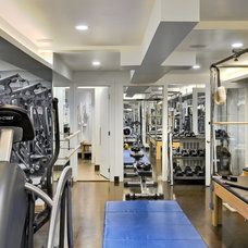 Contemporary Home Gym by Crisp Architects