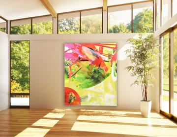 CT Midcentury Home Yoga Studio
