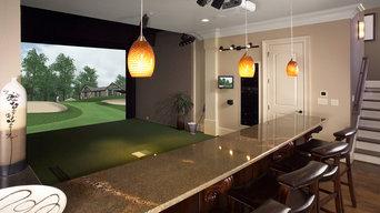 Custom Golf Simulator for Home or Office