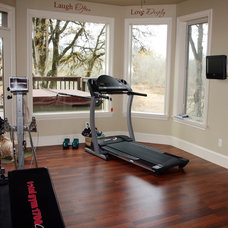 Traditional Home Gym by Shelter Solutions LLC