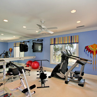 home exercise rooms  houzz