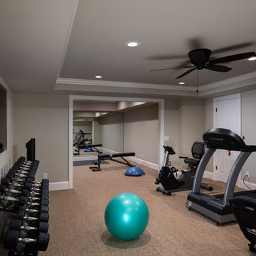Custom Home Gym