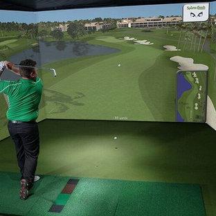 Custom Indoor Golf Rooms