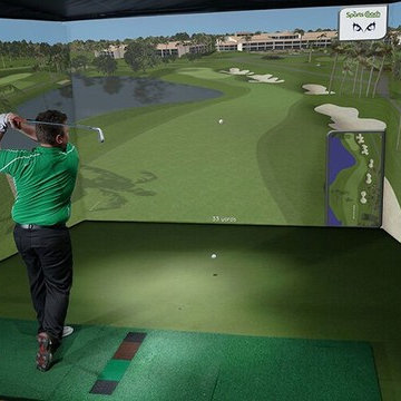 Custom Indoor Golf Rooms