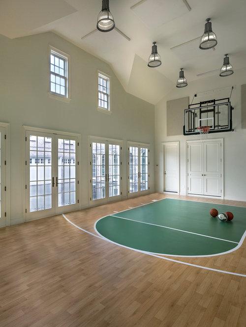 Large Indoor Sports Court Design Ideas Renovations Photos