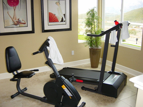 Traditional Home Gym by Kerrie L. Kelly