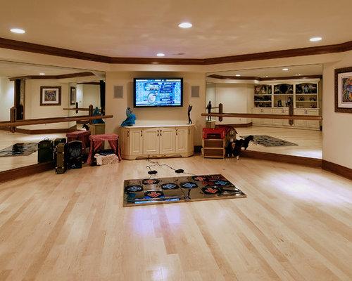 Basement Dance Studio Home Design Ideas Pictures Remodel