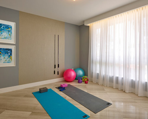 Best Home Yoga Studio Design Ideas Contemporary   Home Iterior ...   Home  Yoga