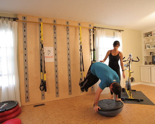 Houzz eclectic home gym design ideas remodel pictures