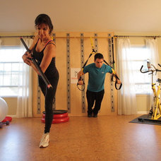 Eclectic Home Gym Eclectic Home Gym