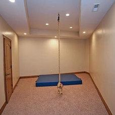 Traditional Home Gym by Dynamic Capital LLC
