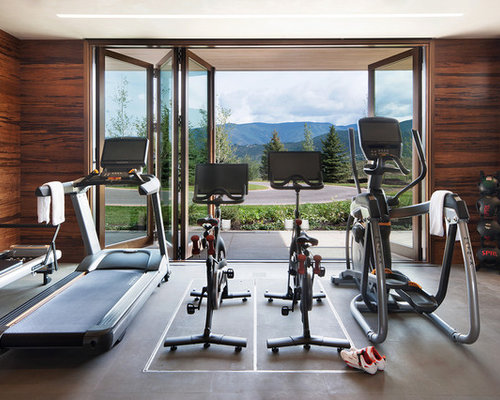 salle de sport montagne photos et id es d co de salles de sport. Black Bedroom Furniture Sets. Home Design Ideas