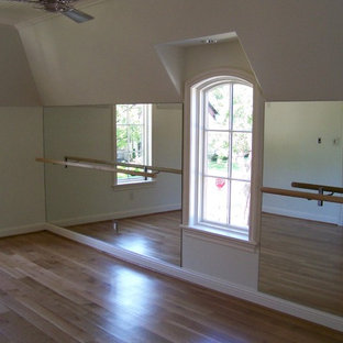 Example Of A Clic Home Gym Design In Dallas