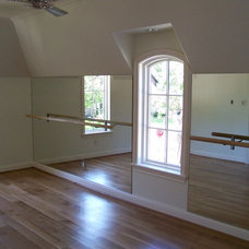 Traditional Home Gym by Ellen Grasso & Sons, LLC