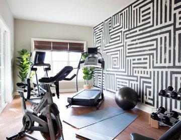 Energetic Exercise Room