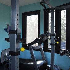 Contemporary Home Gym by G.Elizabeth Designs