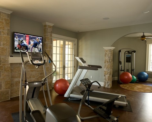Indianapolis Home Gym Design Ideas Pictures Remodel Decor