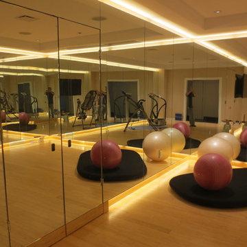 Exersize Room Remodel on 46th Floor