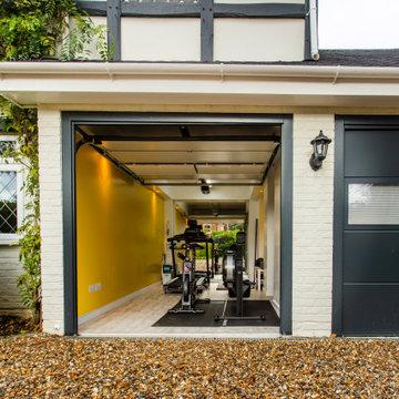 Facade, Gym and Garage - Berkshire