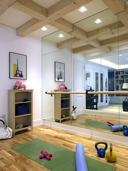 Home Gym Design Ideas & Remodel Pictures