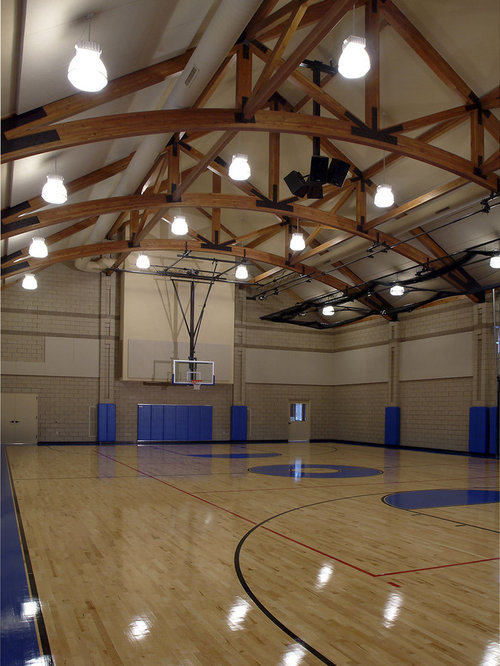 Best indoor sports court design ideas remodel pictures for Indoor basketball court design