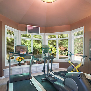 Family Room, Wine Cellar & Gym Addition - Woodinville, WA