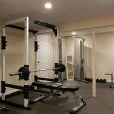 Traditional Home Gym by Bruzzese Home Improvements