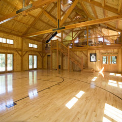 traditional home gym by South County Post & Beam, Inc.