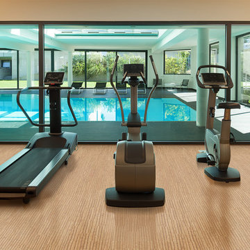 Fitness and Gym Cork Flooring
